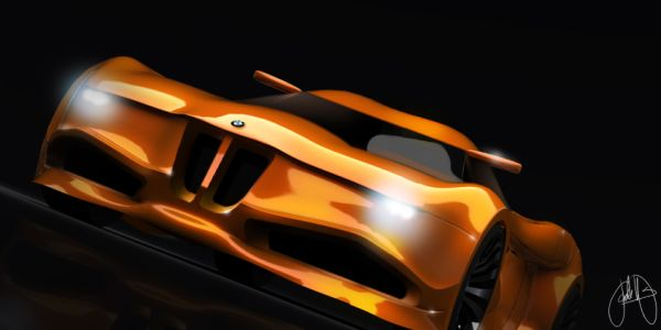 Bmw Inspired Fully Electric Bmw Z12 Concept Is A Realizable Vision